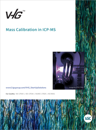 VHG™ - Mass Calibration for ICP-MS_Cover