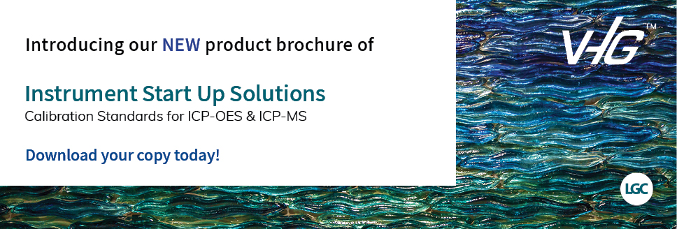 LGC | VHG™ Introducing our NEW Instrument Start Up Solutions Product Brochure